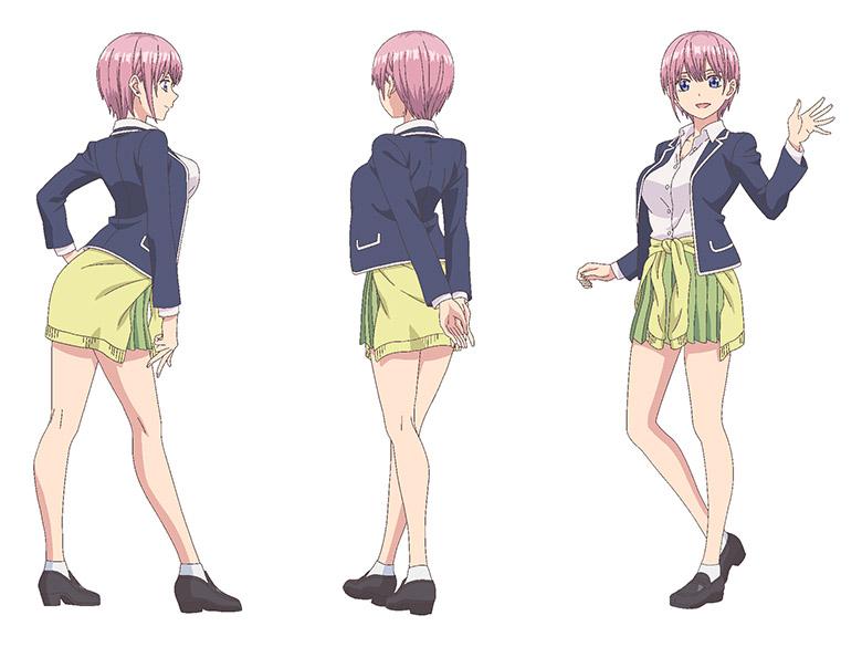 中野一花,Ichika Nakano,五等分の花嫁,The Quintessential Quintuplets,五等分的新娘,姐姐