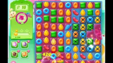 video candy crush jelly saga level 4 jelly boss level