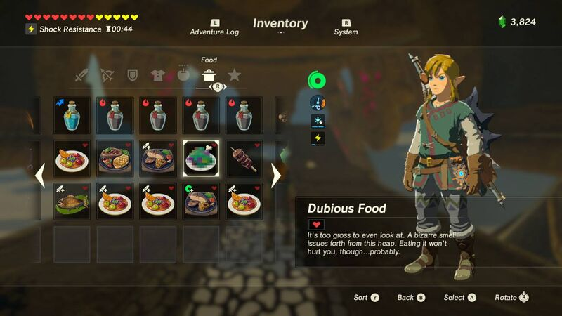 Hearty food recipes botw foodstutorial full legend of zelda breath the wild recipe book with meals screenshot botw cooking hearty food recipes botw foodstutorial org forumfinder Images