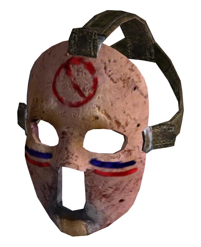 Хоккейная маска fallout