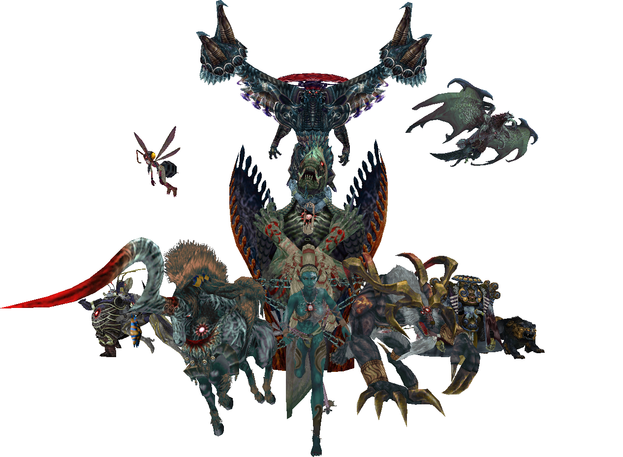 Final fantasy x aeons wallpaper