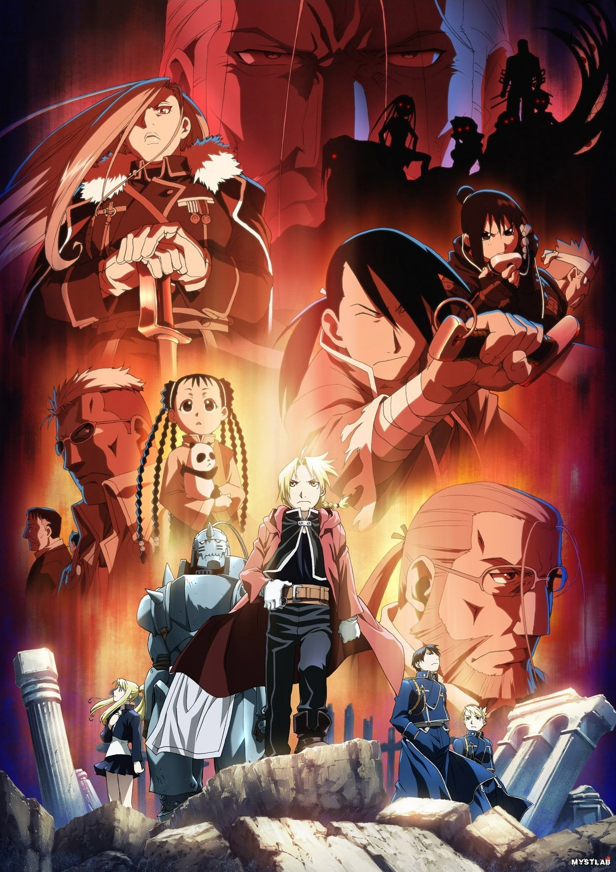 Image result for Fullmetal Alchemist: Brotherhood