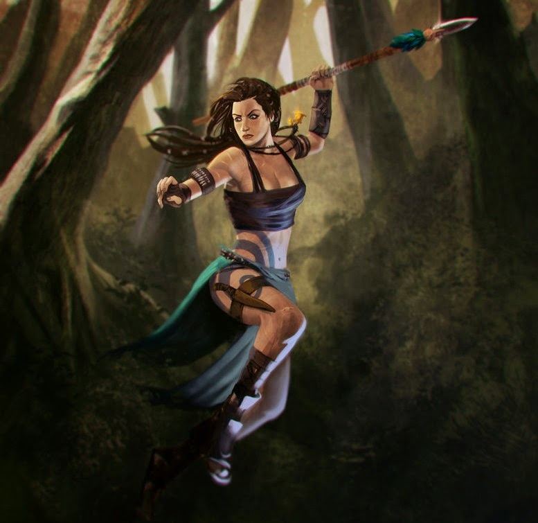 How to Be Like a Warrior Nymph (Fantasy)