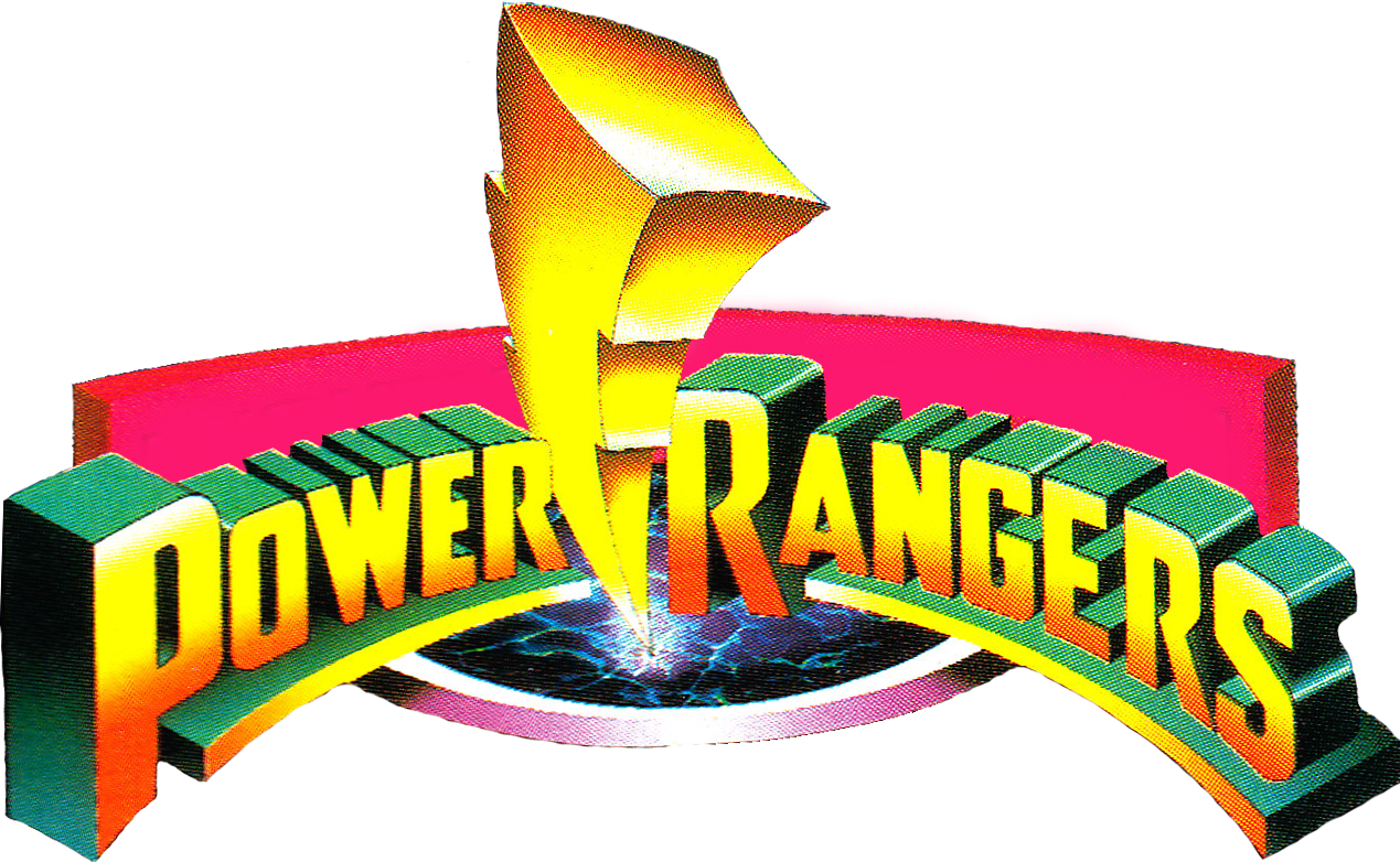Mighty morphin power rangers wallpaper logo