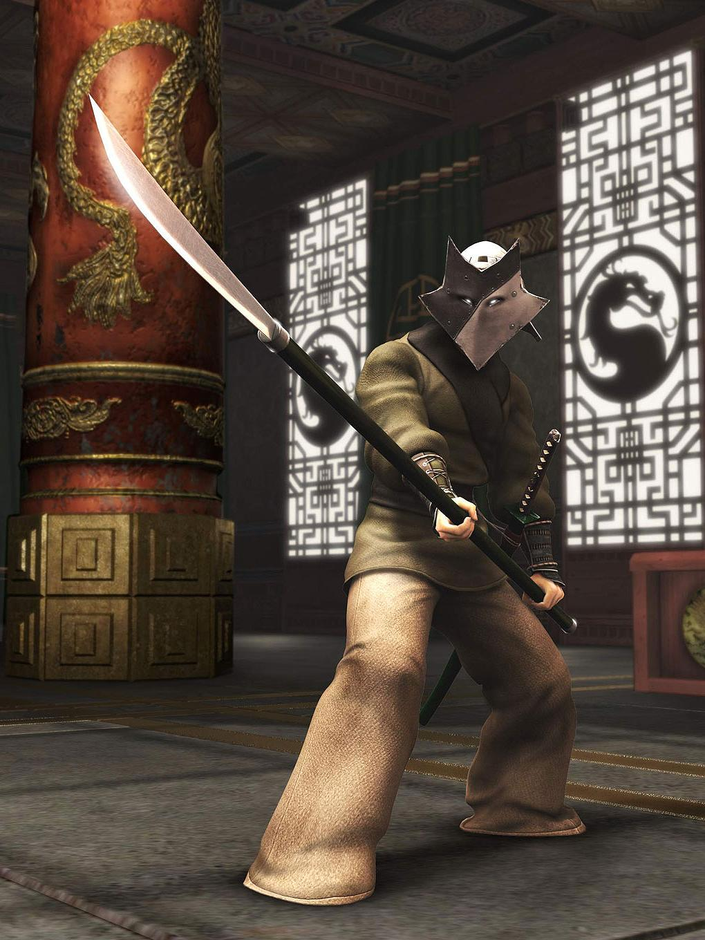 mortal kombat shaolin monks raiden - crazywidow