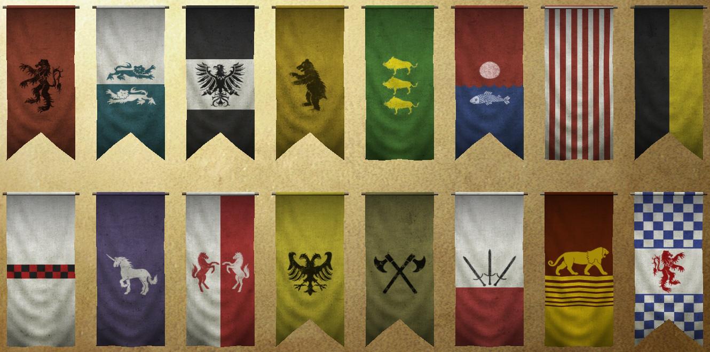 Как в mount and blade warband сделать свой флаг в