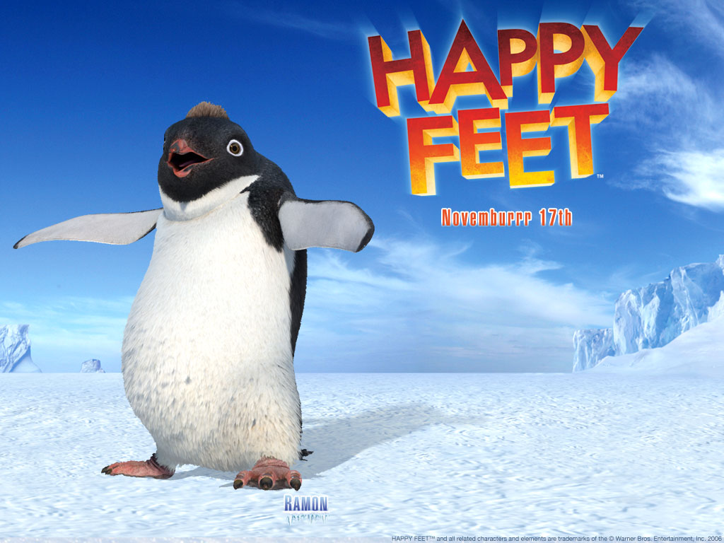 Happy Feet Trailer 2006   YouTube