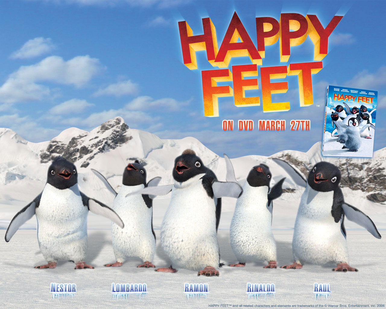 Amazoncom happy feet party supplies