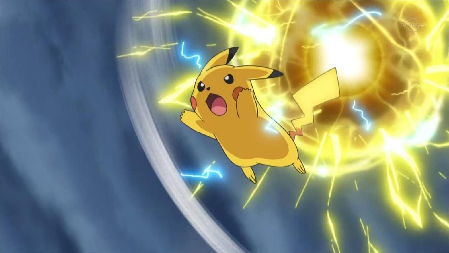 Pikachu electro ball