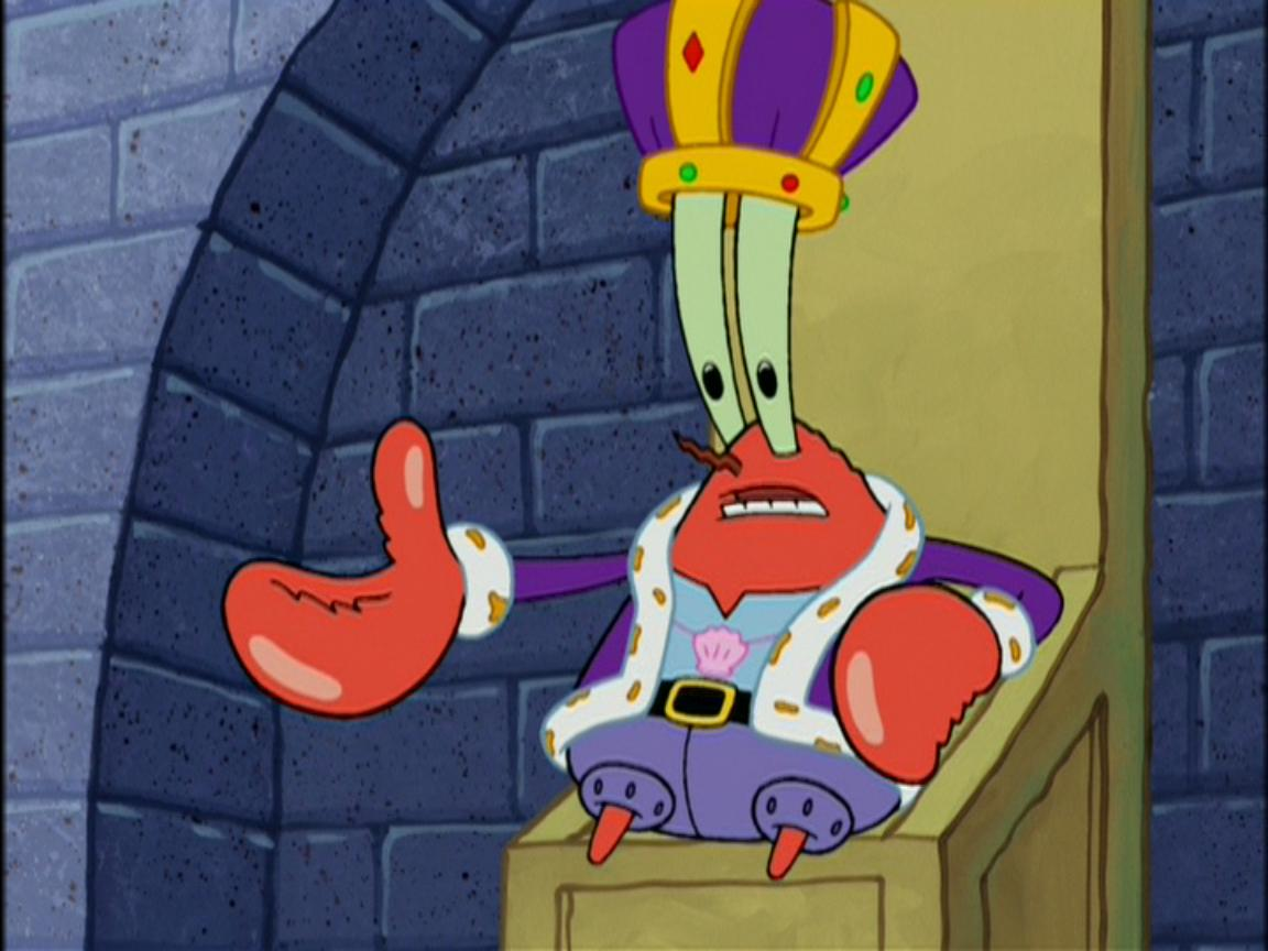 Mr. krabs spongebob