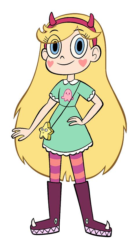 Рисунок звёздная принцесса