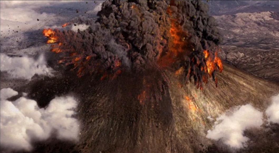 Pompeii volcano today