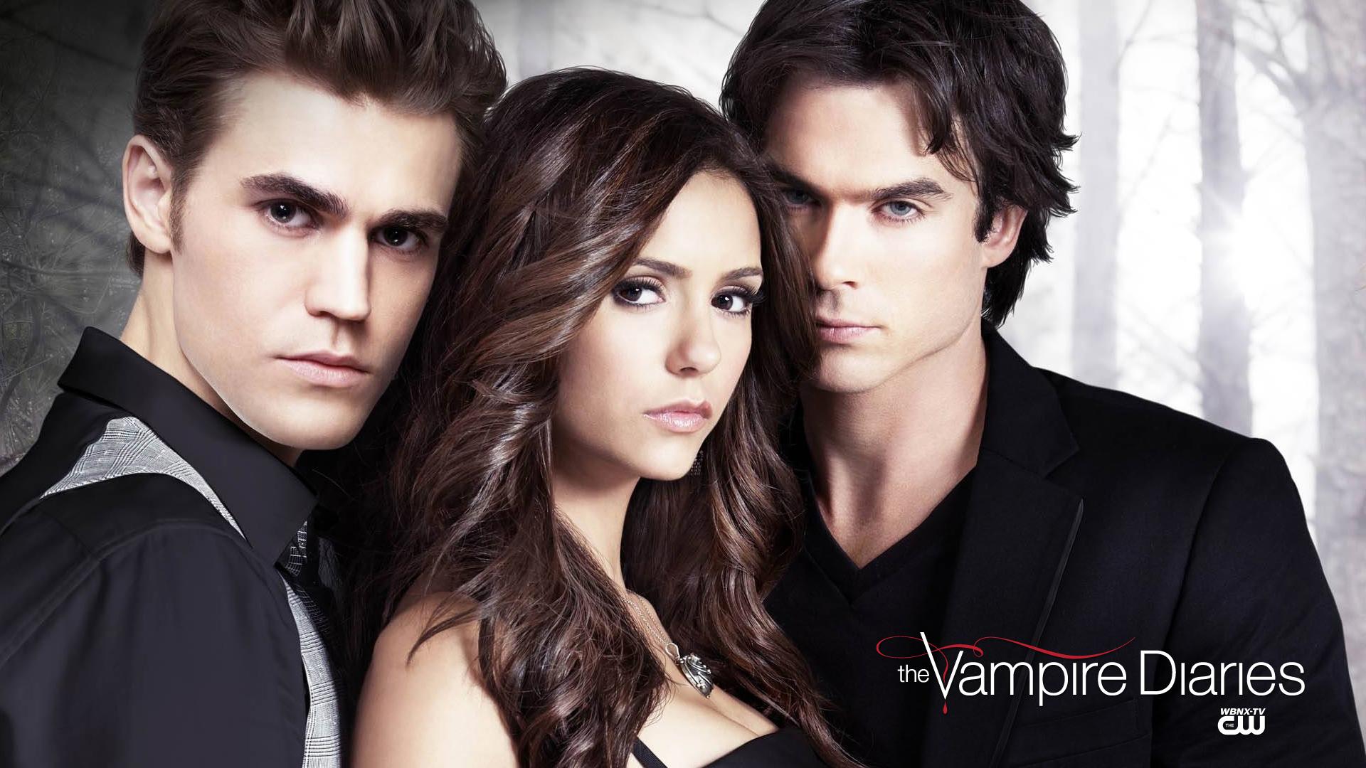 Image Cw The Vampire Diaries Hd Wallpaper Elena Gilbert Stefan