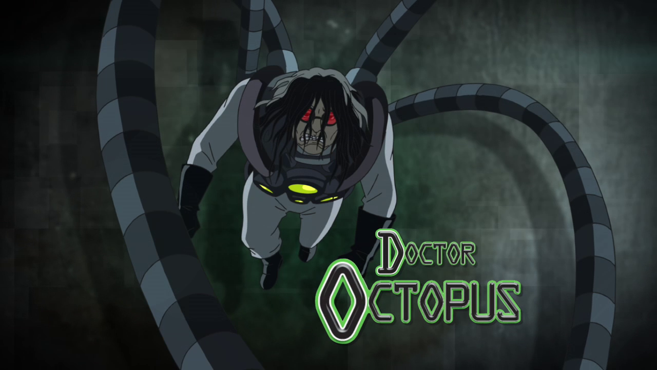 Doctor octopus ultimate spider man