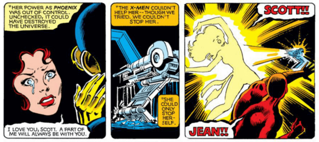 Death in Comics - The Death of Jean Grey