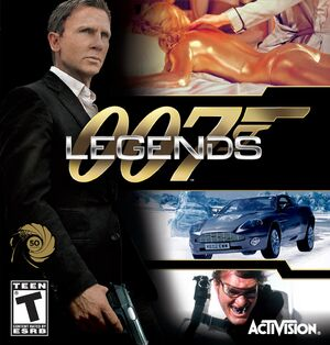 007 Legends Cover