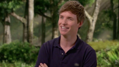 Eddie Redmayne Flabbergasted By 'Amazing' 'Early Man' Sets