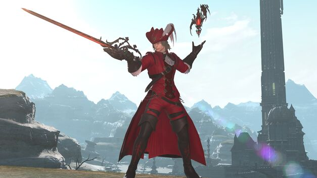 The Red Mage, a new (but familiar) class heading to FFXIV soon.