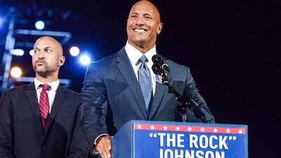 "Dwayne Johnson Would ""Rock"" as President"