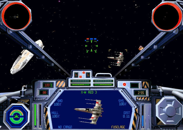 Star Wars TIE Fighter game
