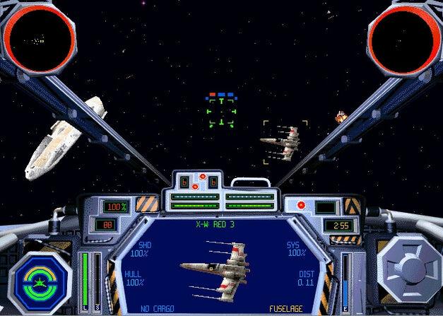 Star Wars TIE Fighter game