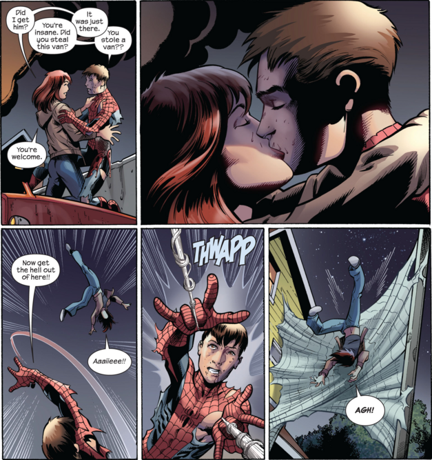 10 best marvel kisses