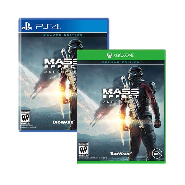 An image of Mass Effect Andromeda Deluxe Edition.