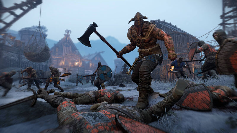 The Raider in For Honor is a fearsome sight on the battlefield.