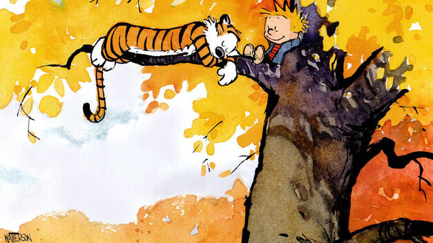 calvin and hobbes bill watterson
