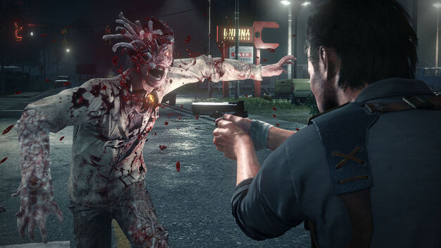 The Evil Within 2 zombies don't die easily