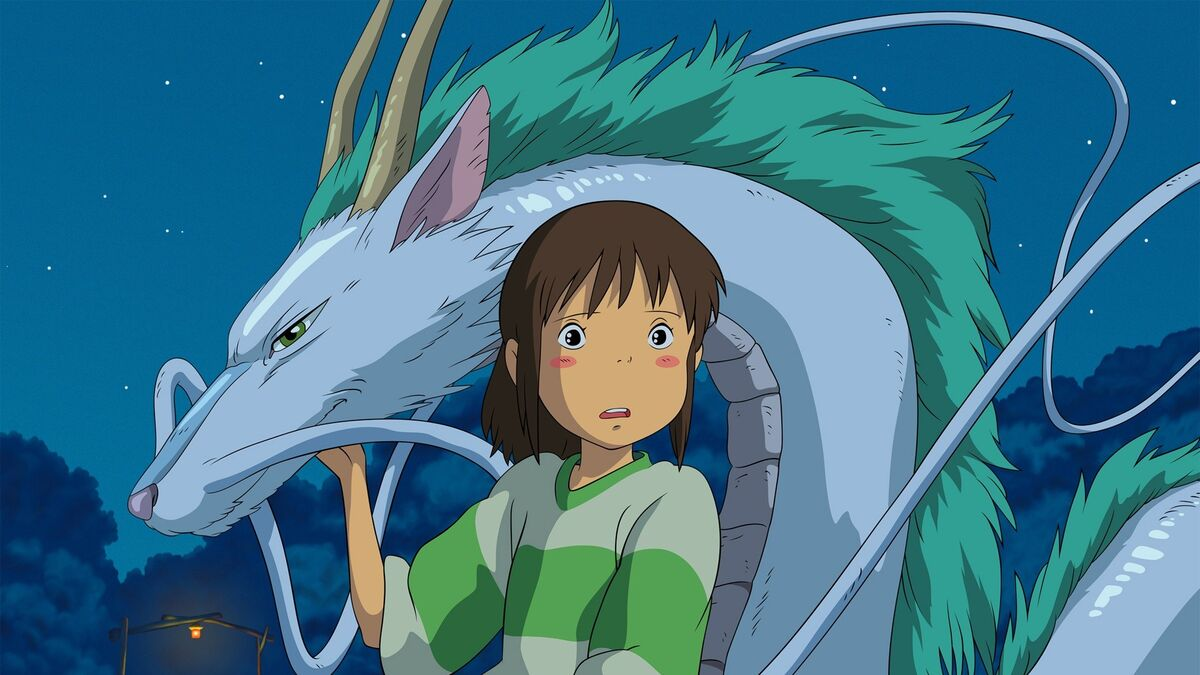 anime to watch with your grand parents Spirited Away