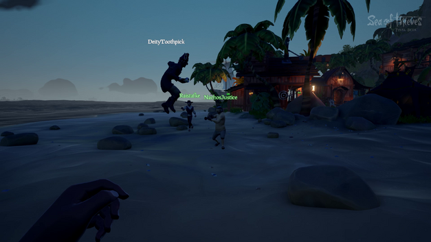 PVP combat in Sea of Thieves
