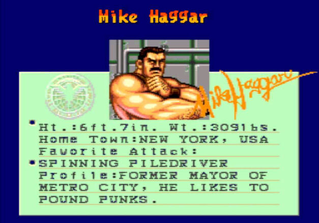 Mike Haggar Slam Masters