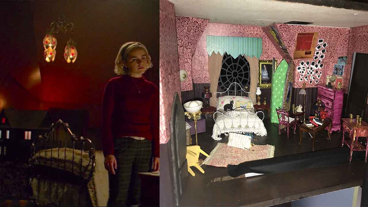 Chilling Adventures of Sabrina dollhouse