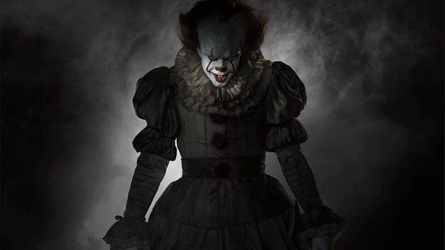 clowns killer evil pennywise it feature hero