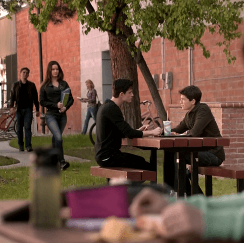 Teen_Wolf_Season_3_Episode_8_Visionary_Ian_Nelson_Michael_Fjordbak_Young_Peter_Young_Derek_school_lunch