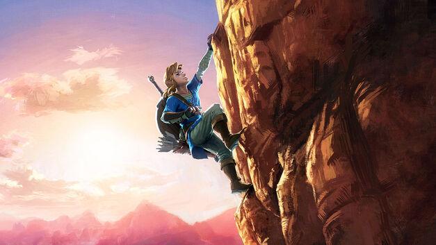 Legend of Zelda - Breath of the Wild keyart