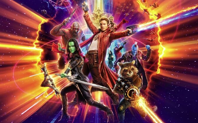 Guardians of the Galaxy Vol 2 image of the whole team