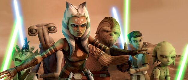 Ahsoka And Younglings
