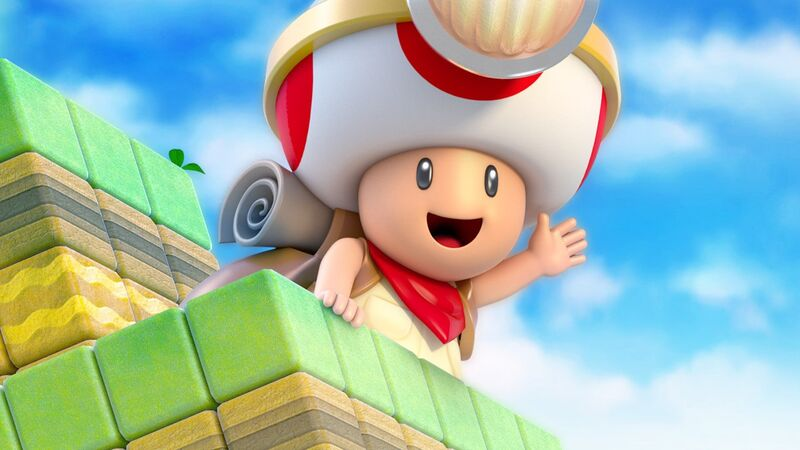 Will Captain Toad Have A Role To Play In Super Mario Odyssey Fandom
