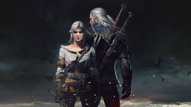 Witcher 3 Geralt and Ciri