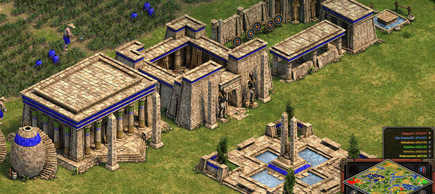Age of Empires: Definitive Edition-Town