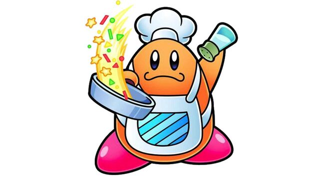 Kirby Star Allies Chef Kawasaki