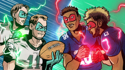 The NFL's Eagles and Giants Go Intergalactic in This Motion Comic Preview