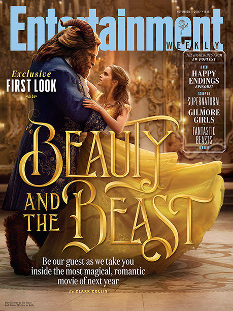 beauty and the beast cover ew