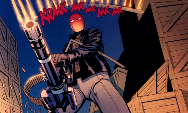 Red_Hood_Jason Todd Gatling Gun