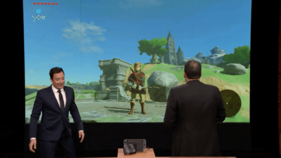See Nintendo Switch's First Live Demo With Jimmy Fallon