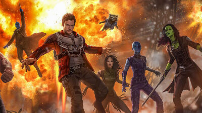 New 'Guardians of the Galaxy Vol. 2', 'Doctor Strange' Art Revealed