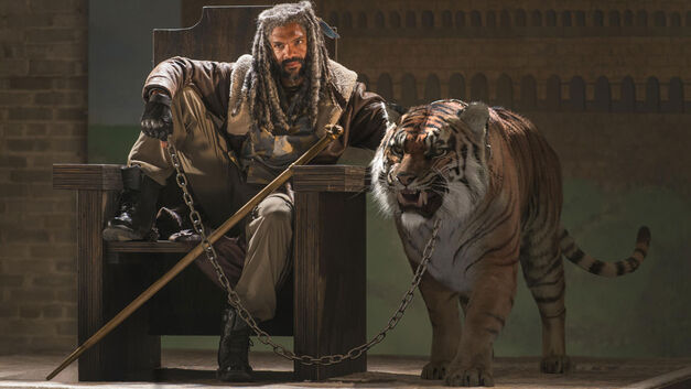 the walking dead recap review the well king ezekiel shiva tiger feature hero