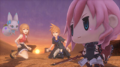 'World of Final Fantasy' - Character Guide